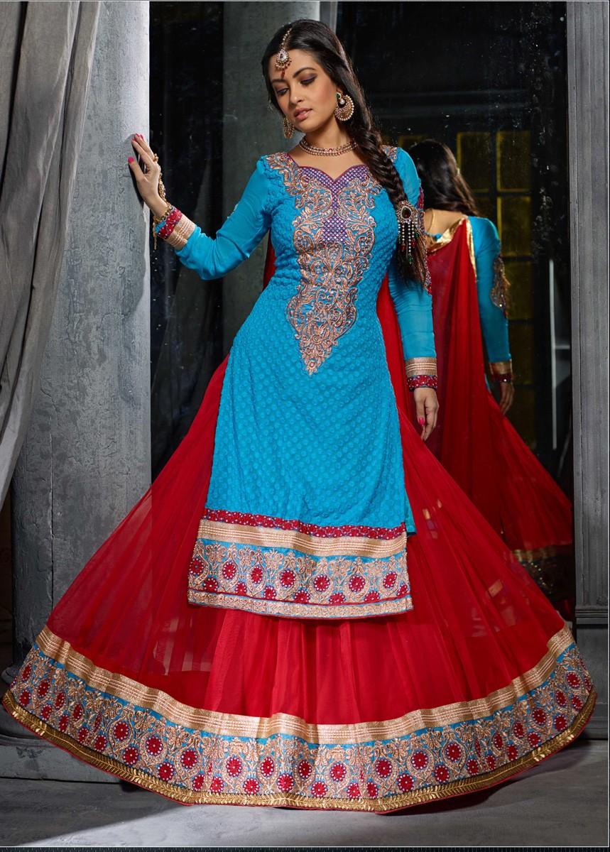 Best lehenga choli online shopping india