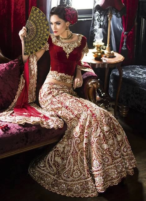 heavy-bridal-wear-lehanga